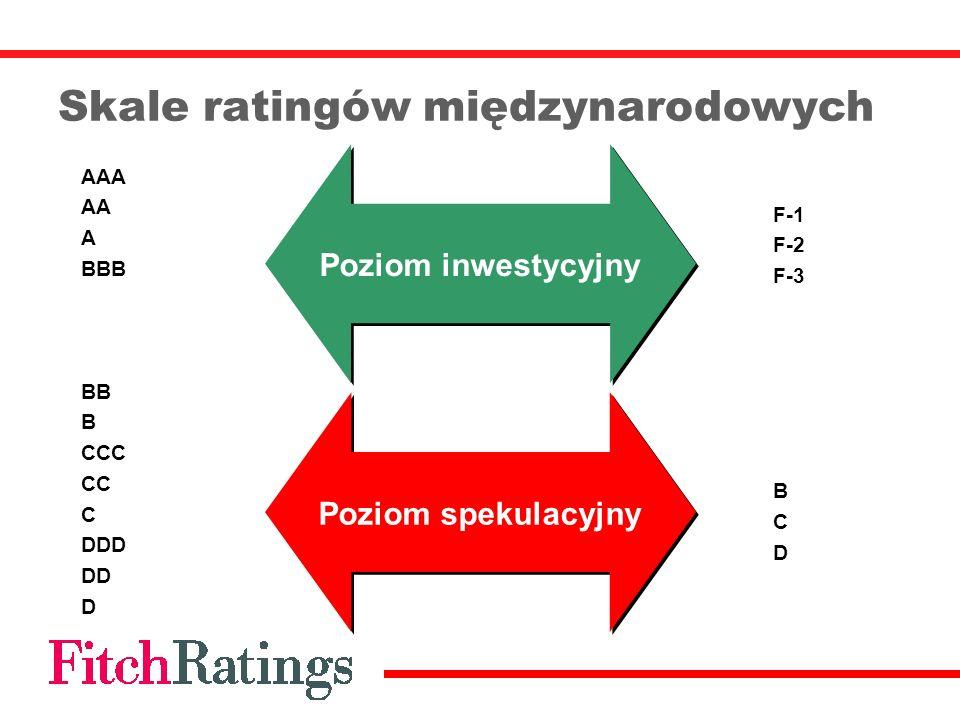 Skale ratingów międzynarodowych