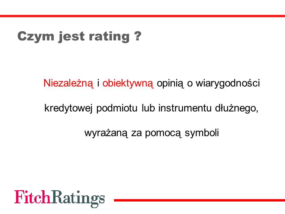 Czym jest rating .