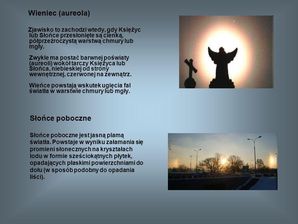 Wieniec (aureola) Słońce poboczne