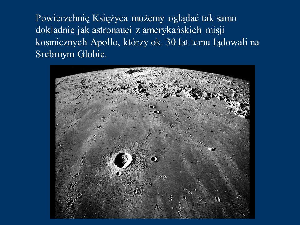 Powierzchnię Księżyca możemy oglądać tak samo dokładnie jak astronauci z amerykańskich misji