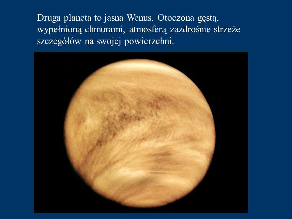Druga planeta to jasna Wenus