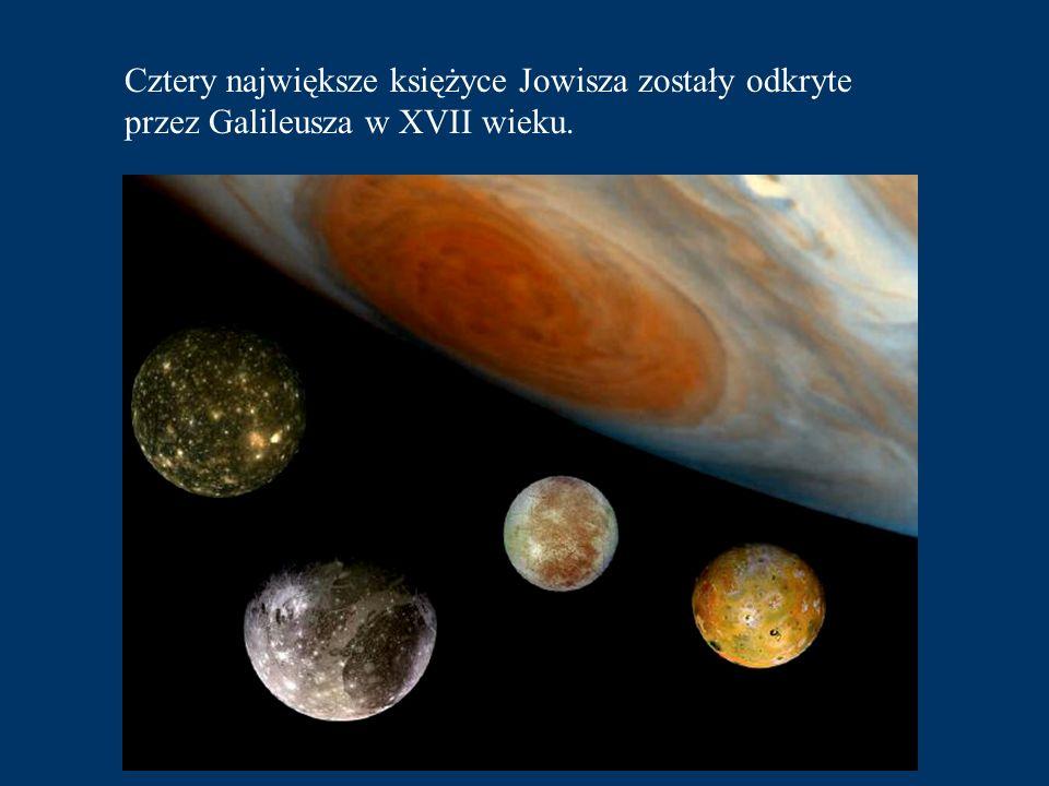 Cztery największe księżyce Jowisza zostały odkryte