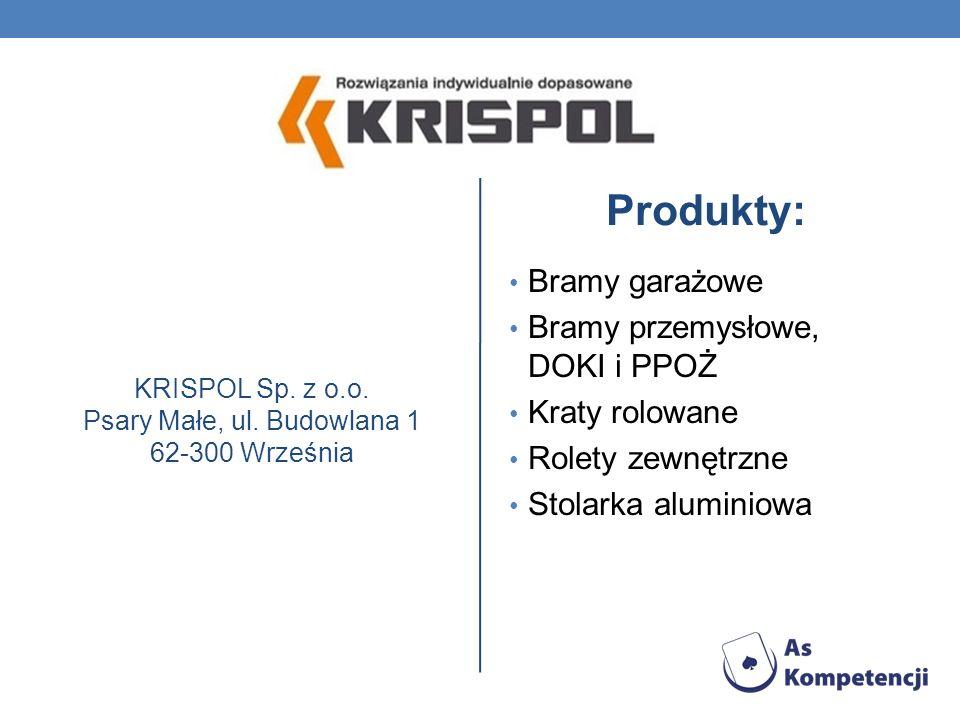 KRISPOL Sp. z o.o. Psary Małe, ul. Budowlana 1 62-300 Września