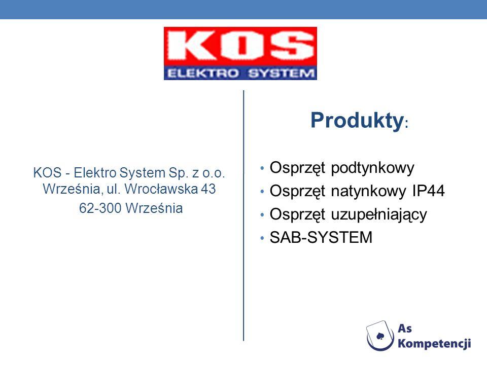 KOS - Elektro System Sp. z o.o. Września, ul. Wrocławska 43