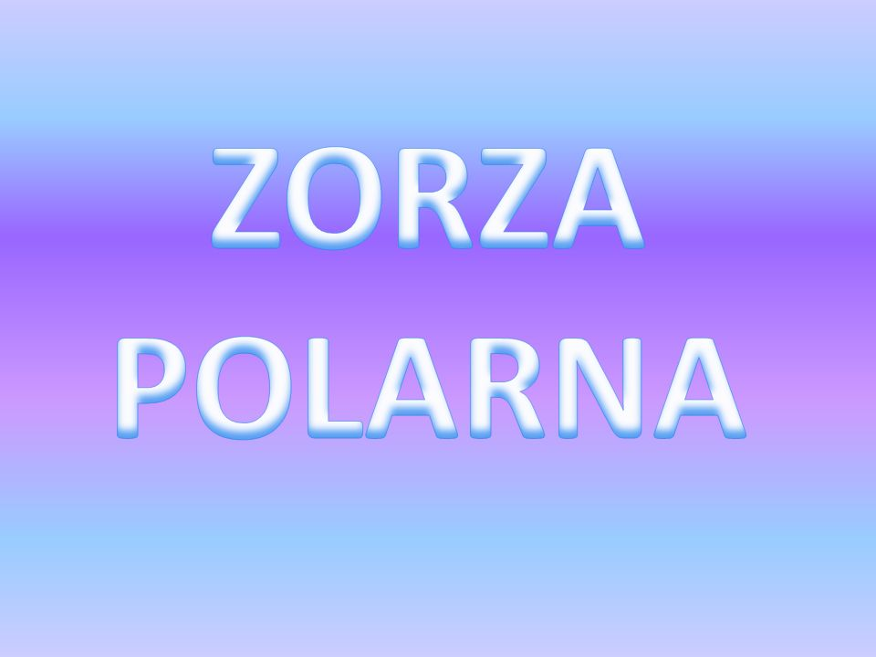 ZORZA POLARNA