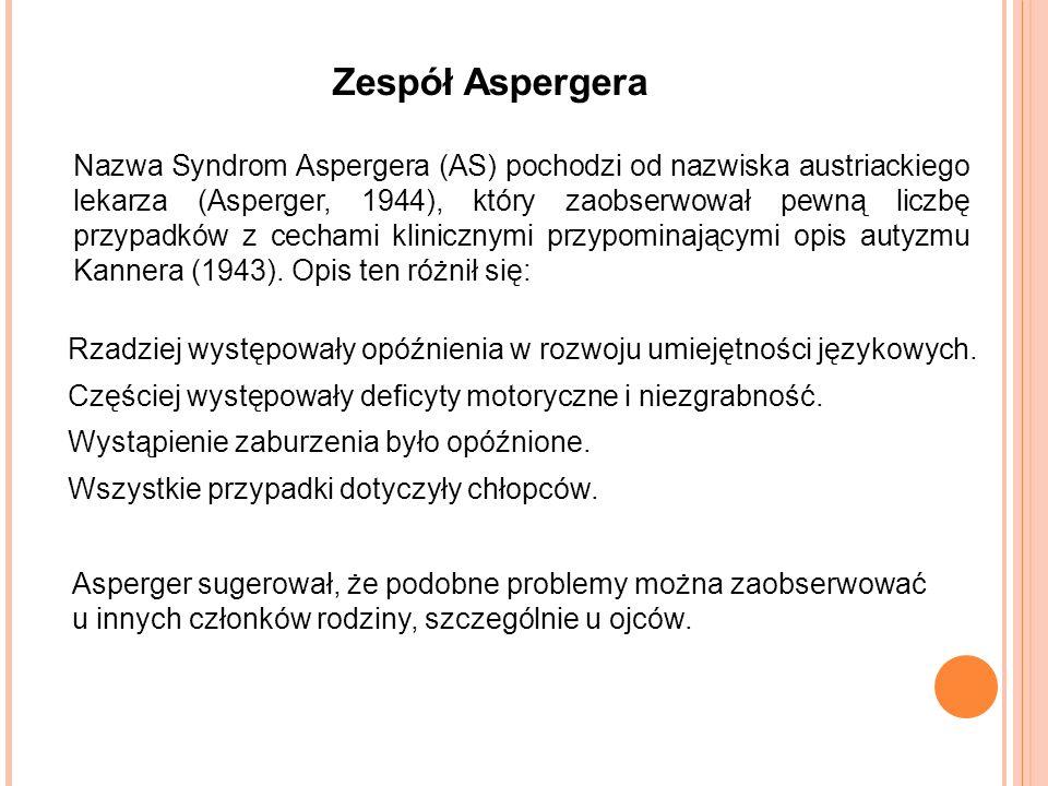 """Zespół Aspergera Image: Nowy """"zaawansowany"""" Test Teorii Umysłu: Dowody Pochodzące"""