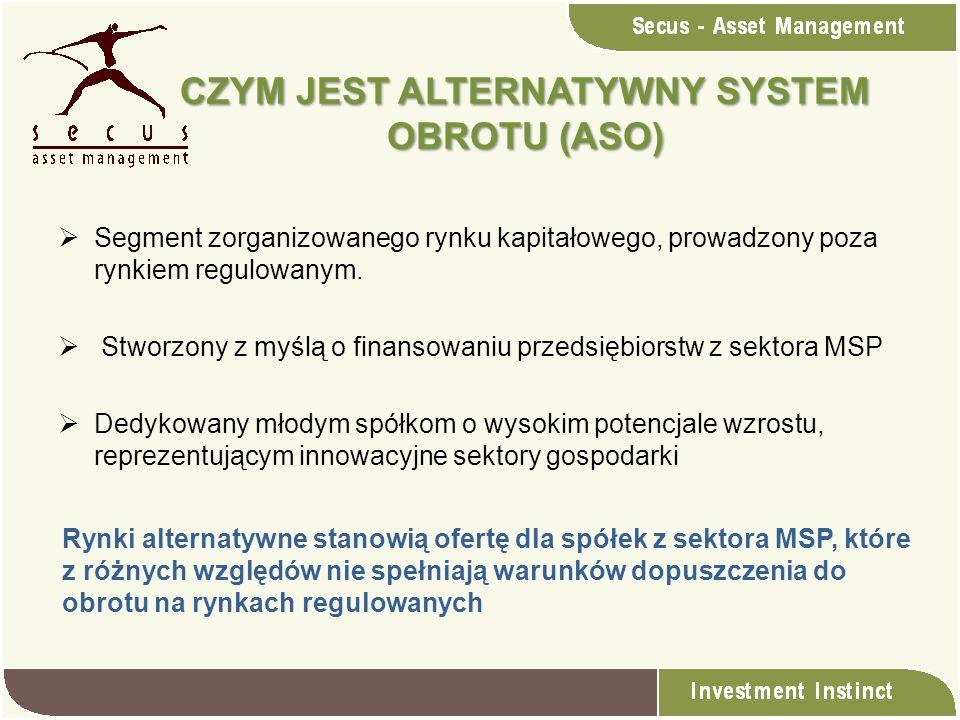 CZYM JEST ALTERNATYWNY SYSTEM OBROTU (ASO)