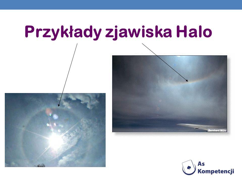 Przykłady zjawiska Halo