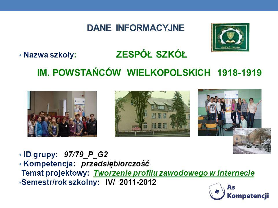 IM. POWSTAŃCÓW WIELKOPOLSKICH 1918-1919