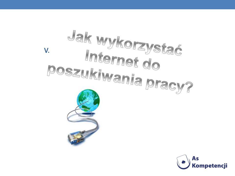 Jak wykorzystać Internet do poszukiwania pracy