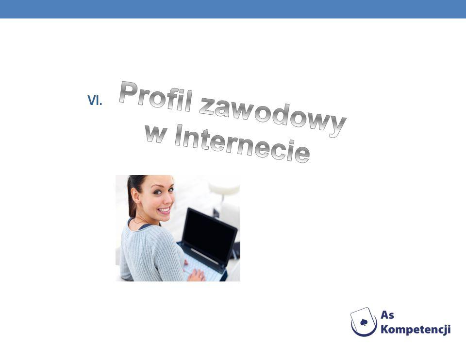 Profil zawodowy w Internecie