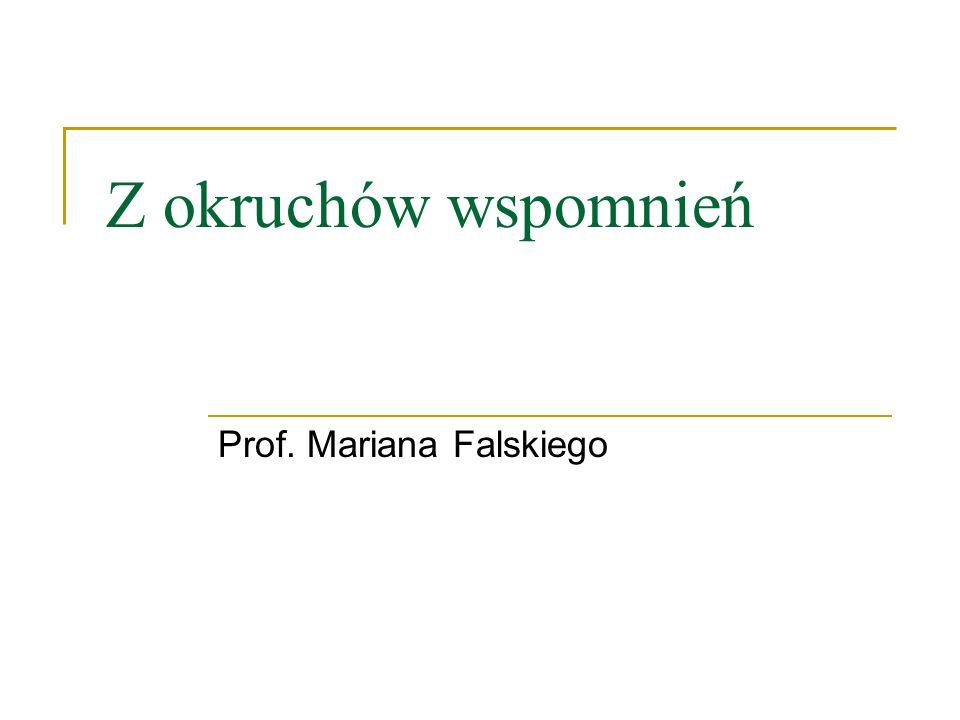 Prof. Mariana Falskiego