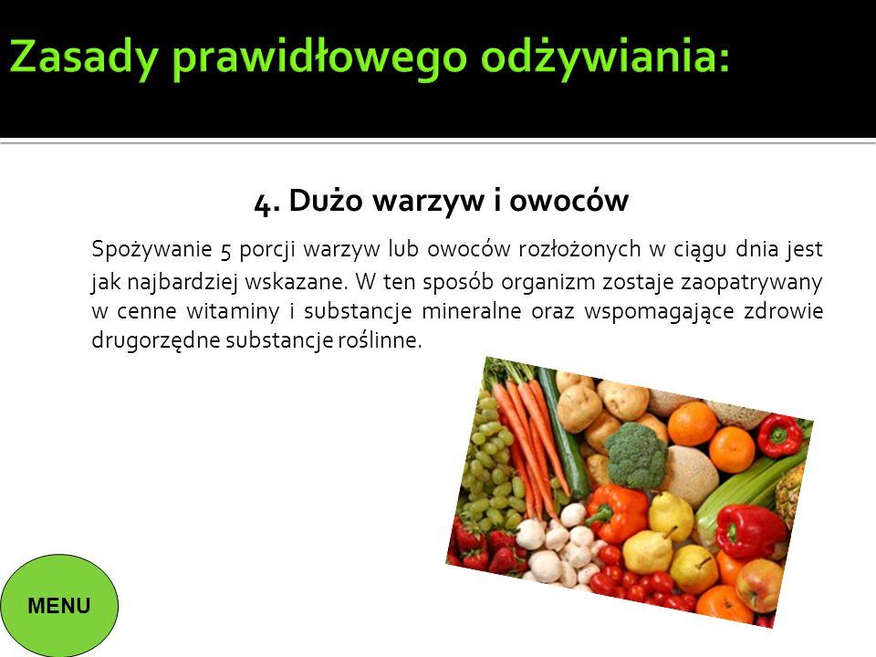 Zasady prawidłowego odżywiania: