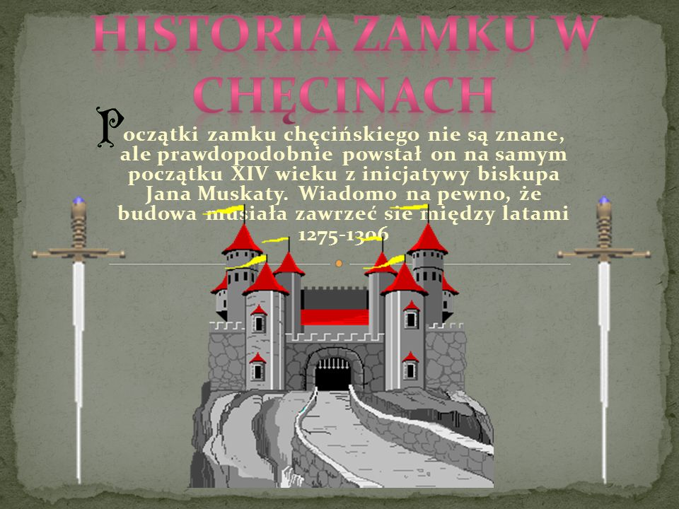 Historia zamku w Chęcinach