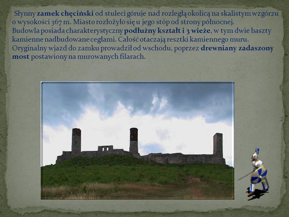 Słynny zamek chęciński od stuleci góruje nad rozległą okolicą na skalistym wzgórzu o wysokości 367 m.