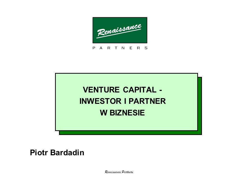 VENTURE CAPITAL - INWESTOR I PARTNER W BIZNESIE Piotr Bardadin