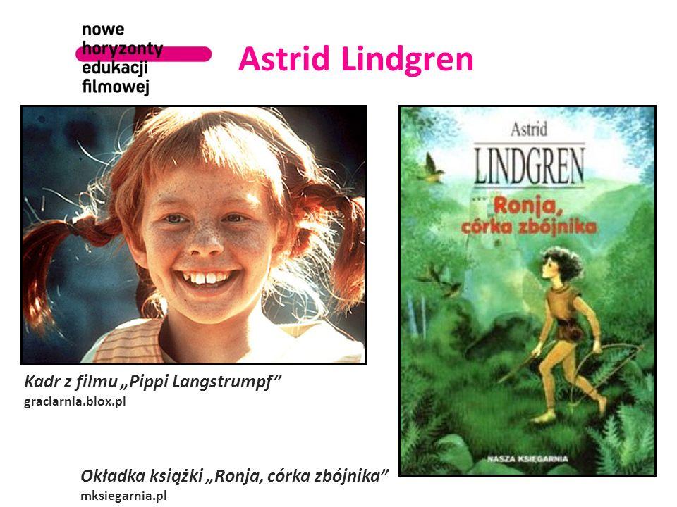 "Astrid Lindgren Kadr z filmu ""Pippi Langstrumpf"