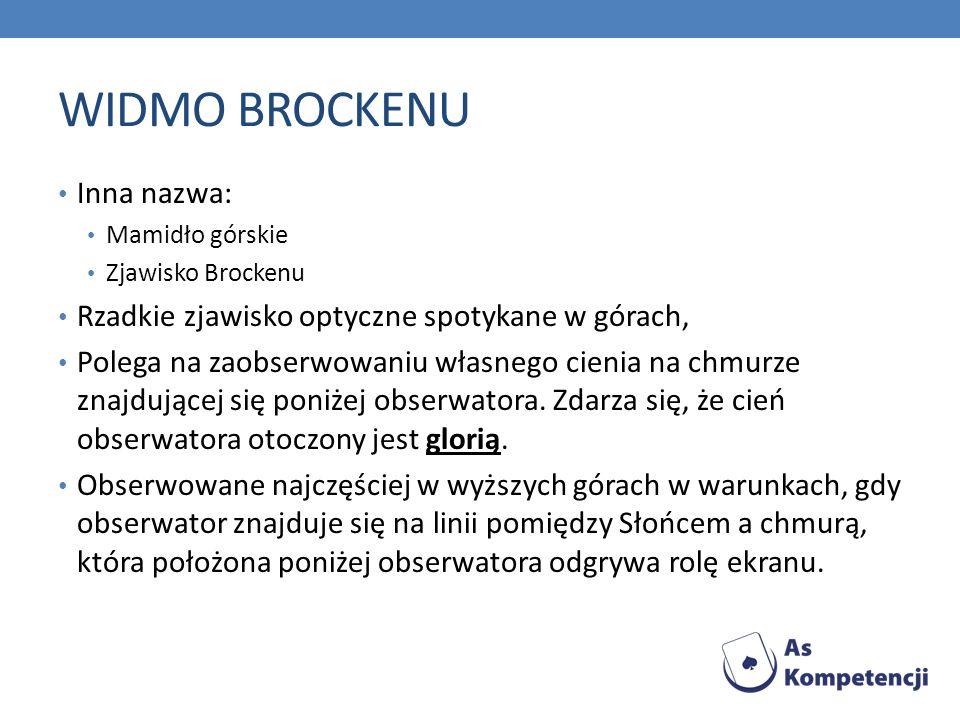 WIDMO BROCKENU Inna nazwa: