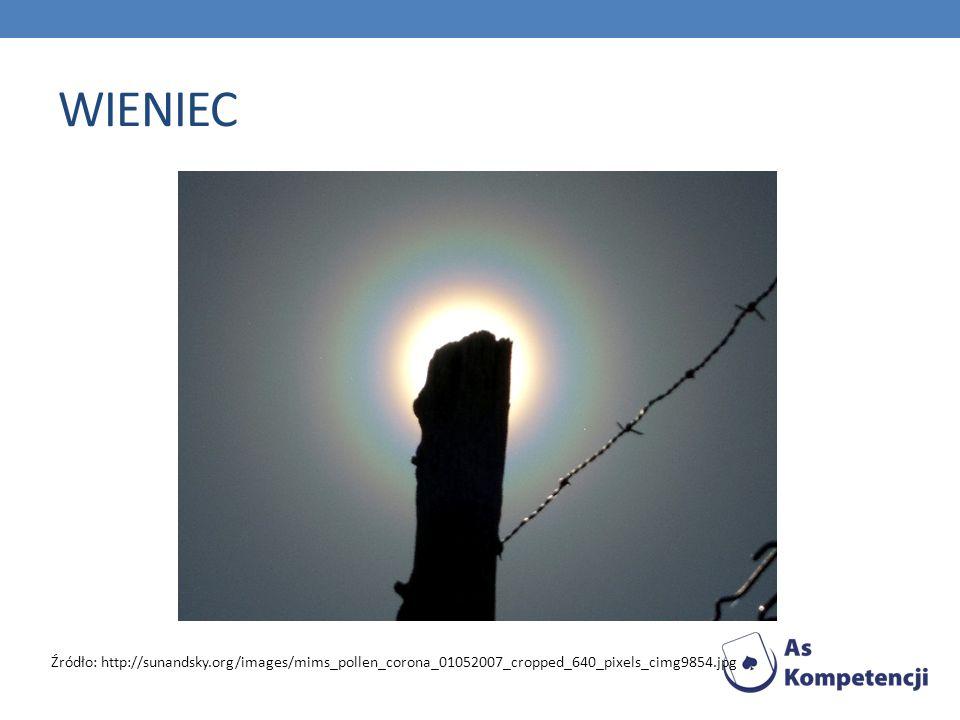 WIENIEC Źródło: http://sunandsky.org/images/mims_pollen_corona_01052007_cropped_640_pixels_cimg9854.jpg.