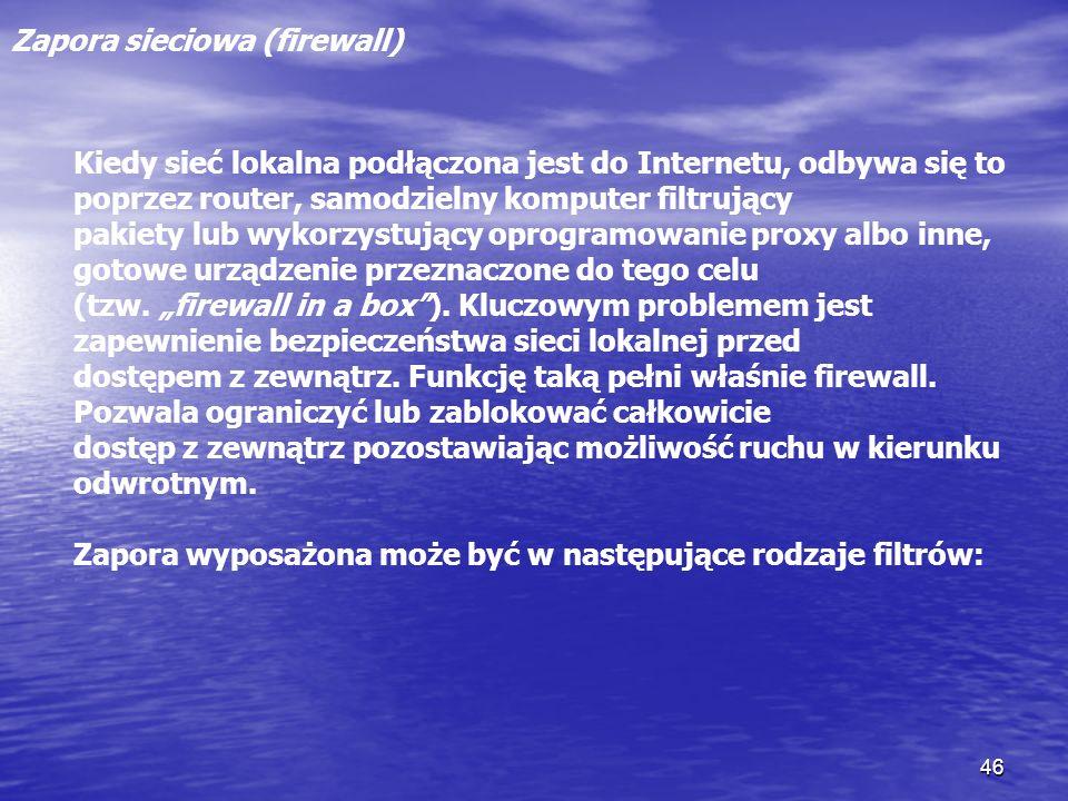Zapora sieciowa (firewall)