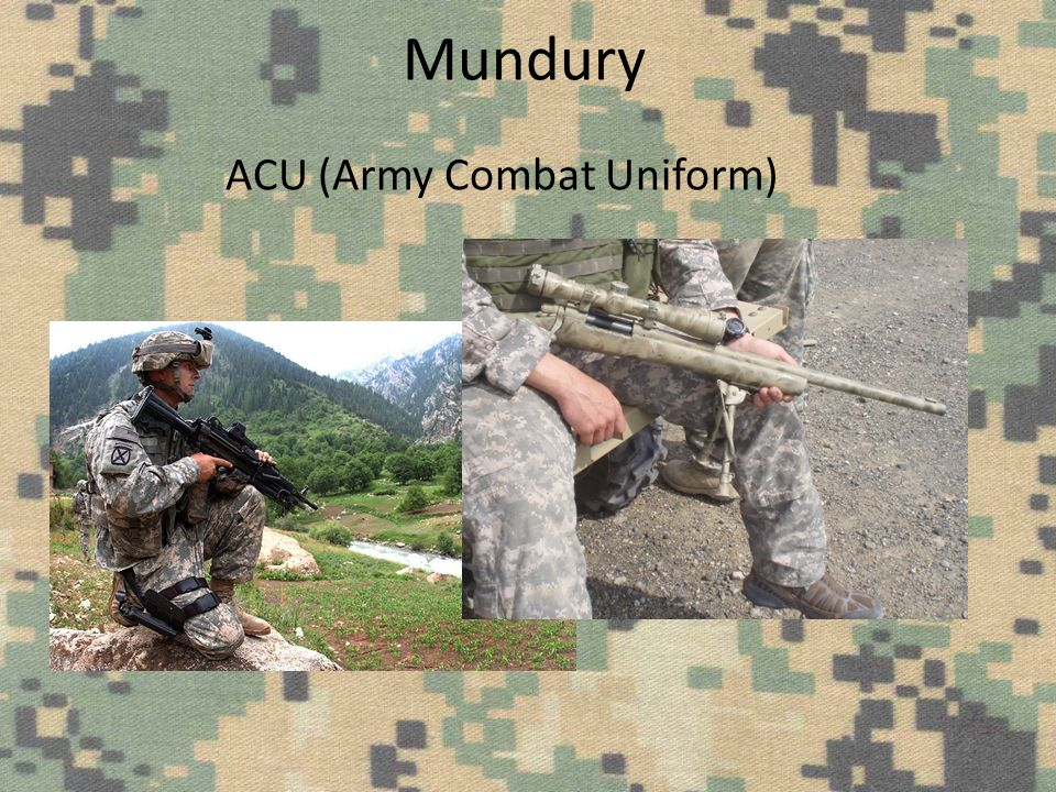 Mundury ACU (Army Combat Uniform)