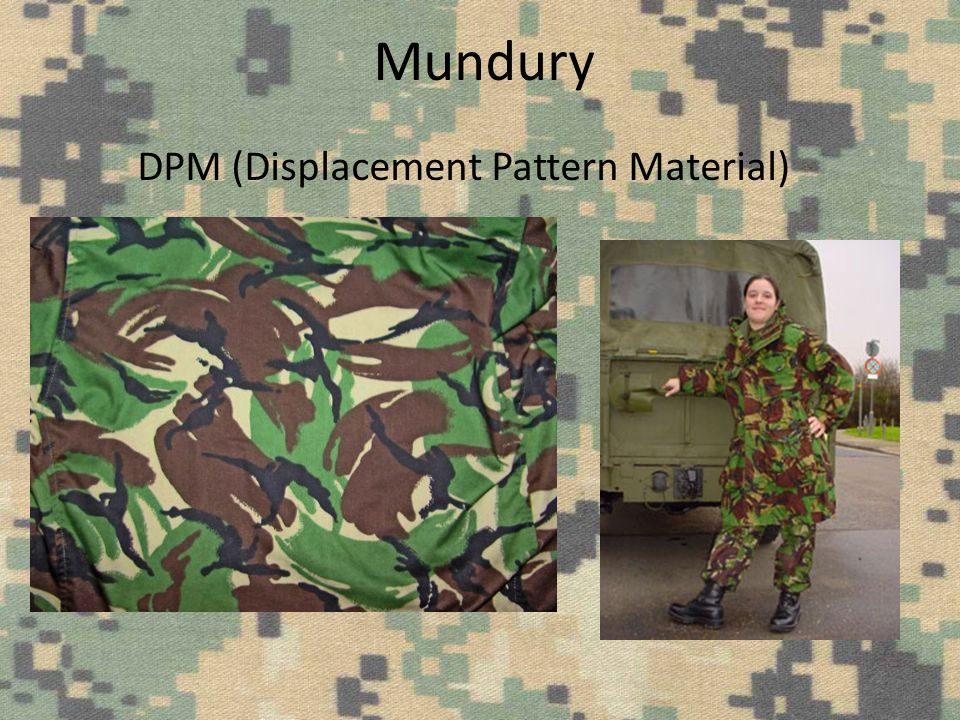 Mundury DPM (Displacement Pattern Material)