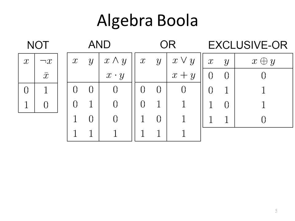 Algebra Boola