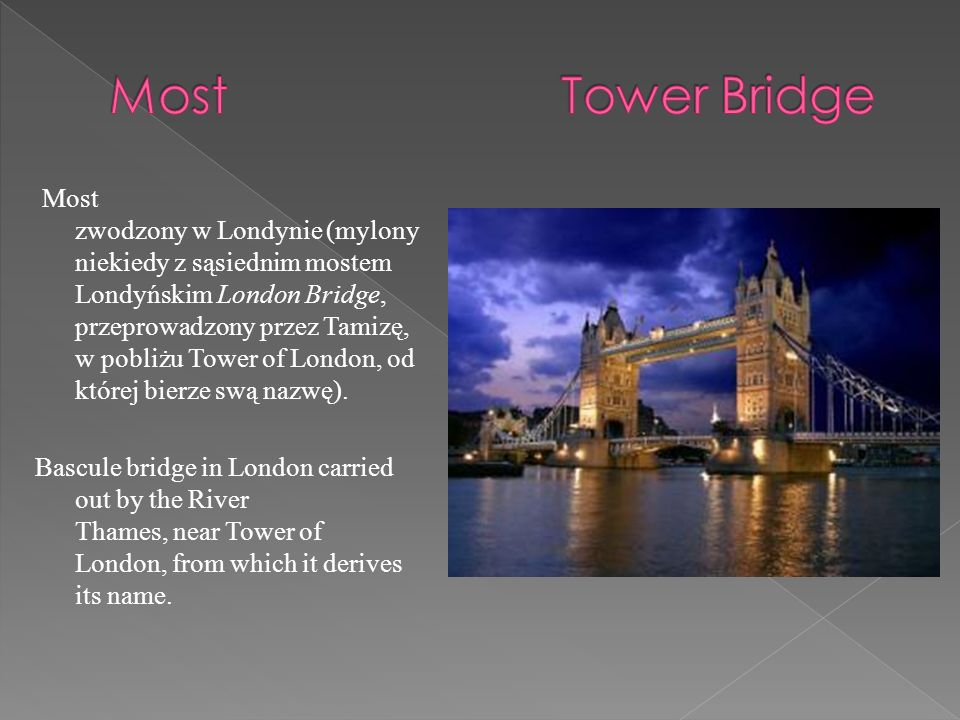 Most Tower Bridge