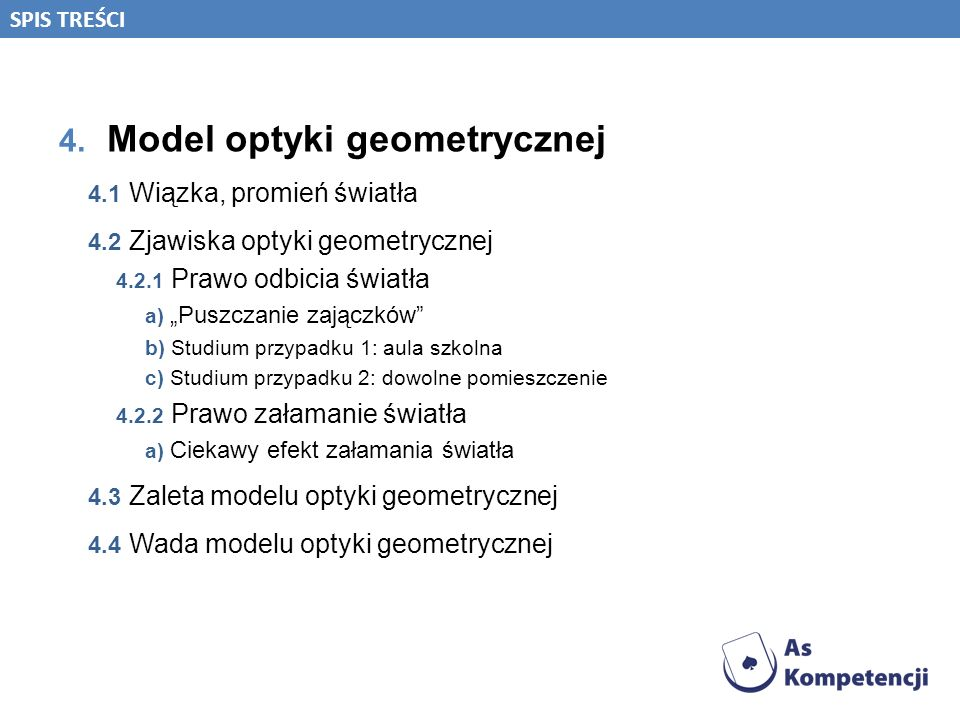Model optyki geometrycznej