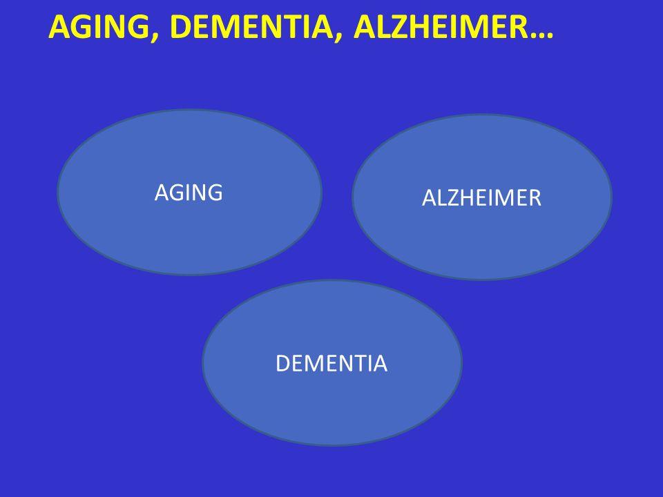 AGING, DEMENTIA, ALZHEIMER…