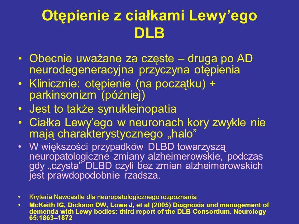 Otępienie z ciałkami Lewy'ego DLB