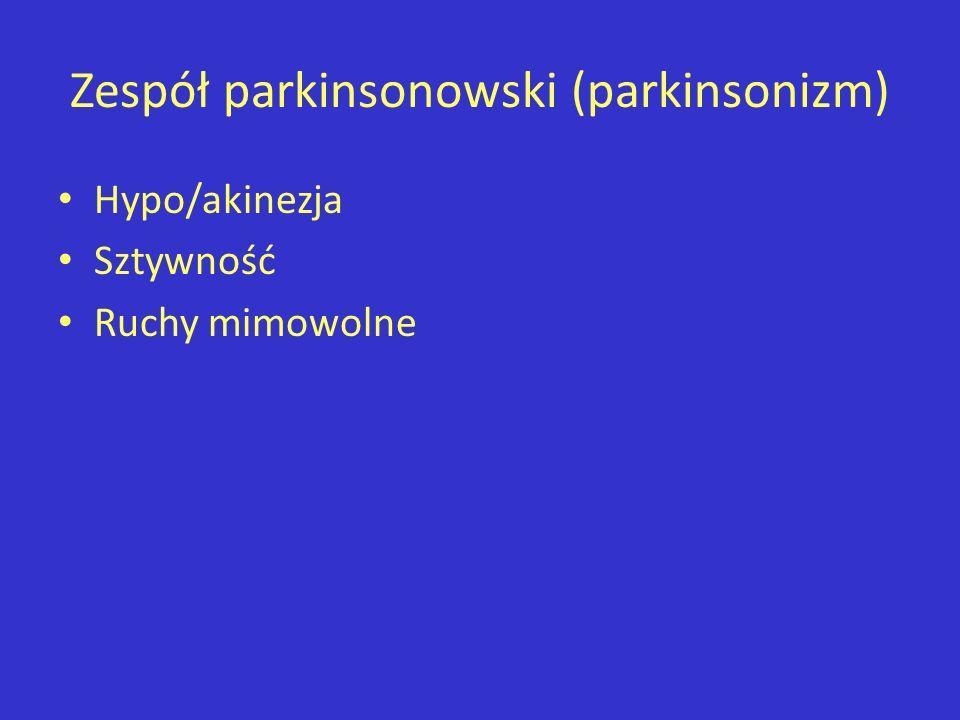 Zespół parkinsonowski (parkinsonizm)