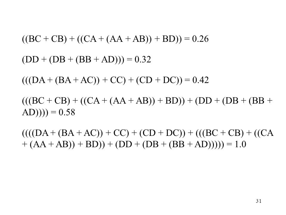 ((BC + CB) + ((CA + (AA + AB)) + BD)) = 0.26