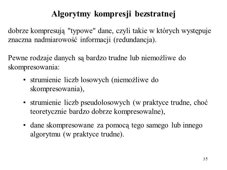 Algorytmy kompresji bezstratnej