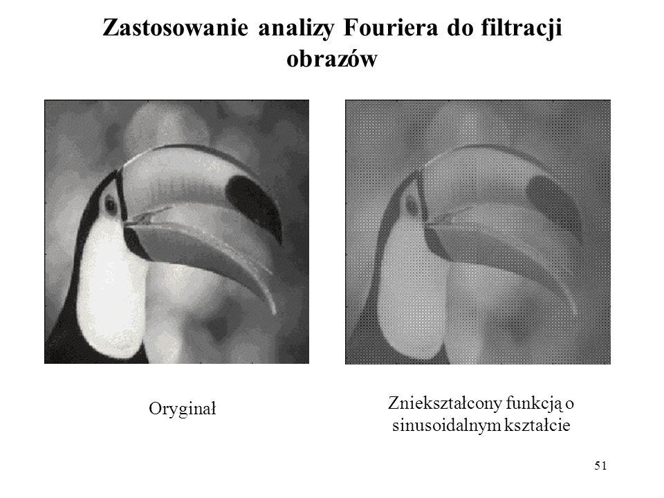 Zastosowanie analizy Fouriera do filtracji obrazów