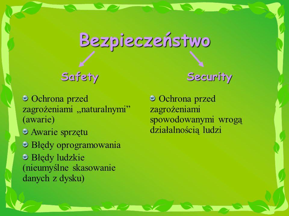 Bezpieczeństwo Safety Security