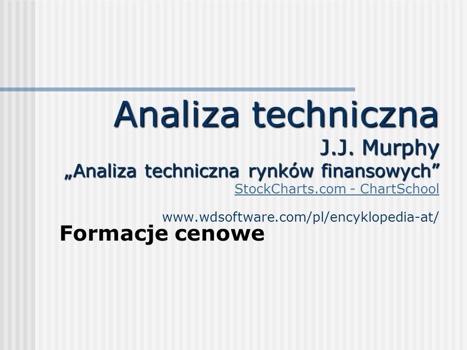 """Analiza techniczna J.J. Murphy """"Analiza techniczna rynków finansowych StockCharts.com - ChartSchool www.wdsoftware.com/pl/encyklopedia-at/"""