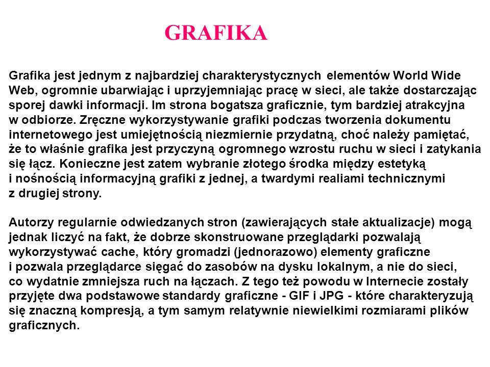 GRAFIKA Grafika jest jednym z najbardziej charakterystycznych elementów World Wide.