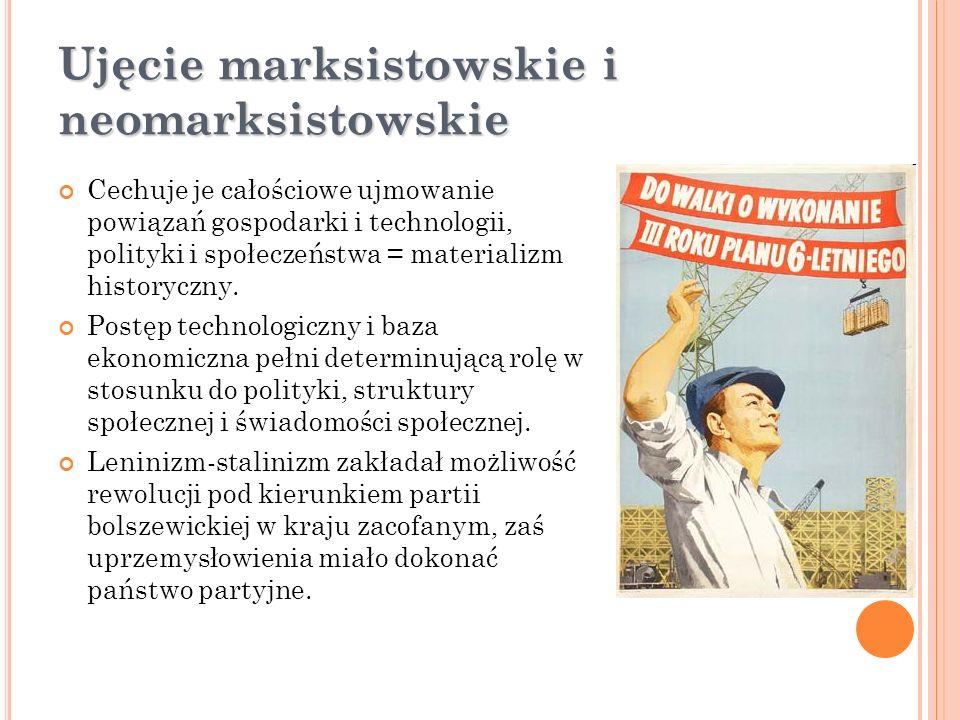 Ujęcie marksistowskie i neomarksistowskie