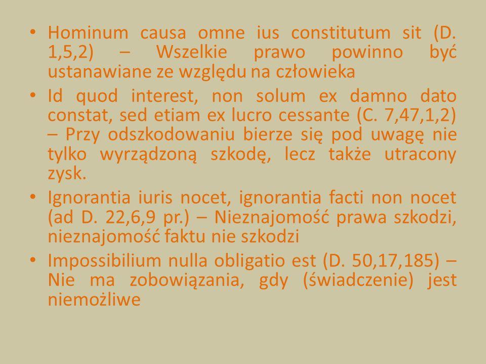 Hominum causa omne ius constitutum sit (D