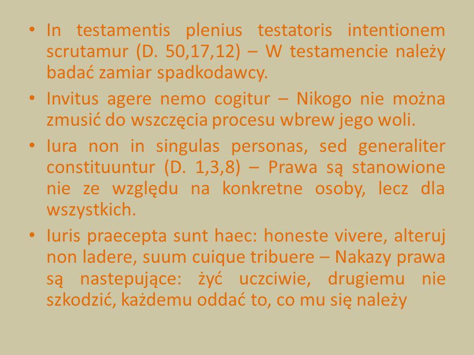 In testamentis plenius testatoris intentionem scrutamur (D