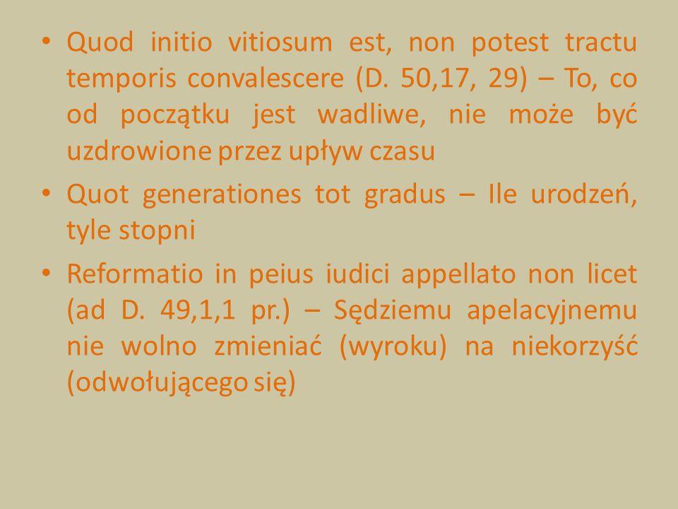 Quod initio vitiosum est, non potest tractu temporis convalescere (D