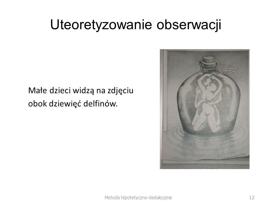 Uteoretyzowanie obserwacji