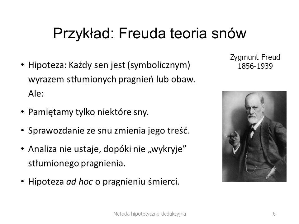 Przykład: Freuda teoria snów