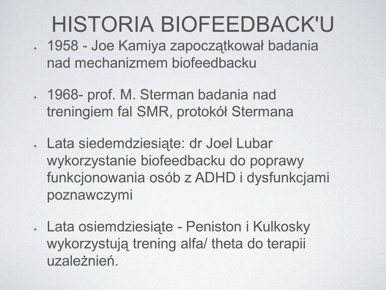 HISTORIA BIOFEEDBACK U