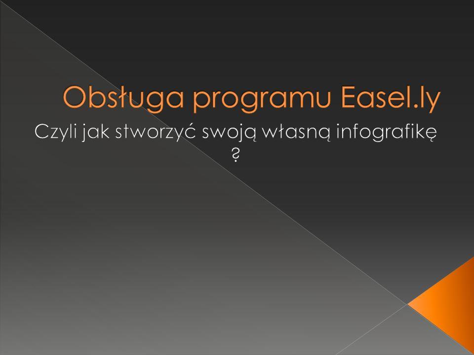 Obsługa programu Easel.ly