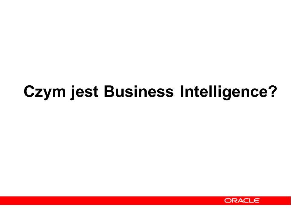 Czym jest Business Intelligence