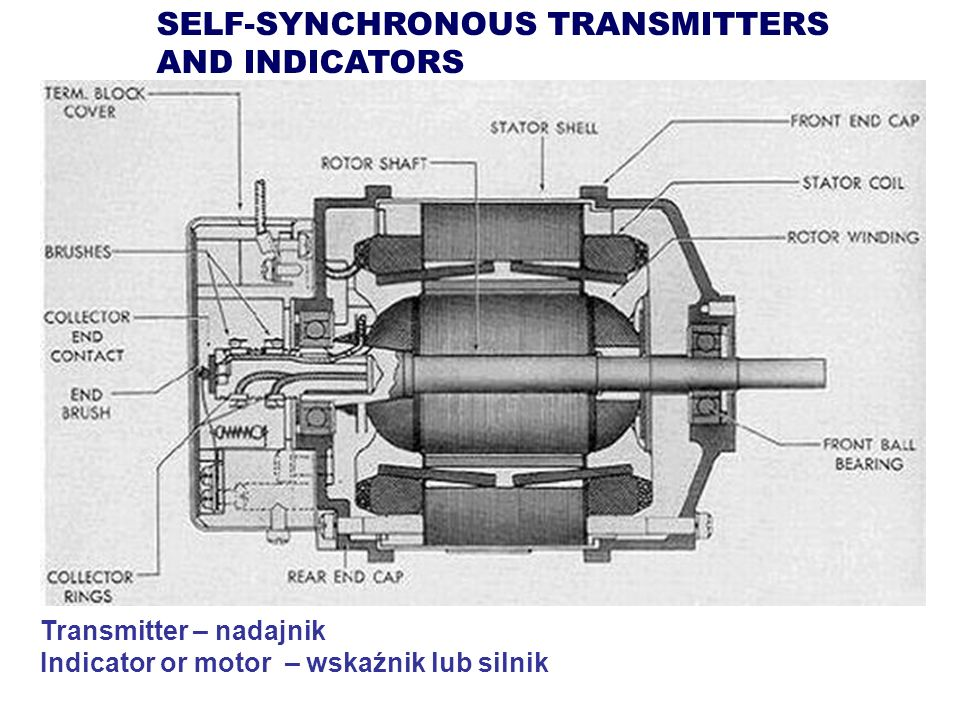 SELF-SYNCHRONOUS TRANSMITTERS AND INDICATORS