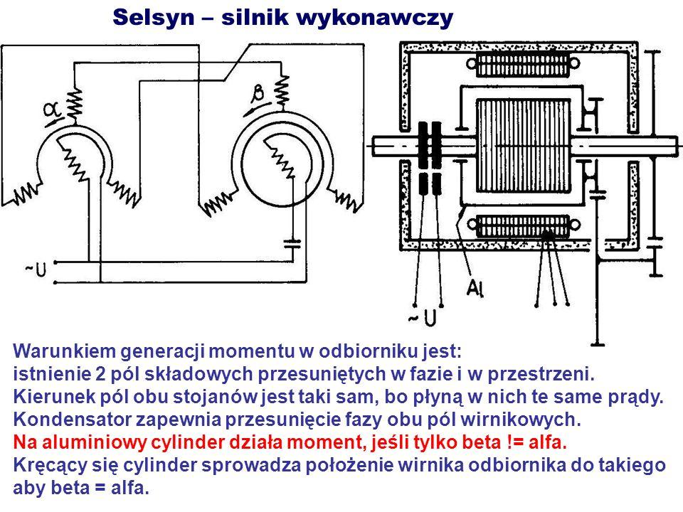 Selsyn – silnik wykonawczy