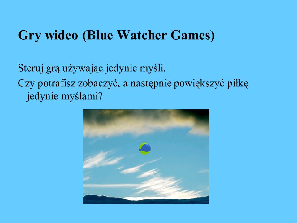 Gry wideo (Blue Watcher Games)